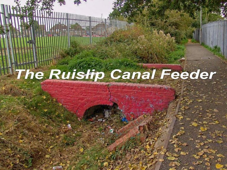 The Grand Junction Canal Feeder from Ruislip