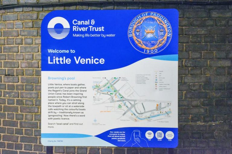 The history of the place name known as 'Little Venice'